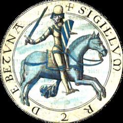 Débat généalogique Sigillum Robertus de Betuna
