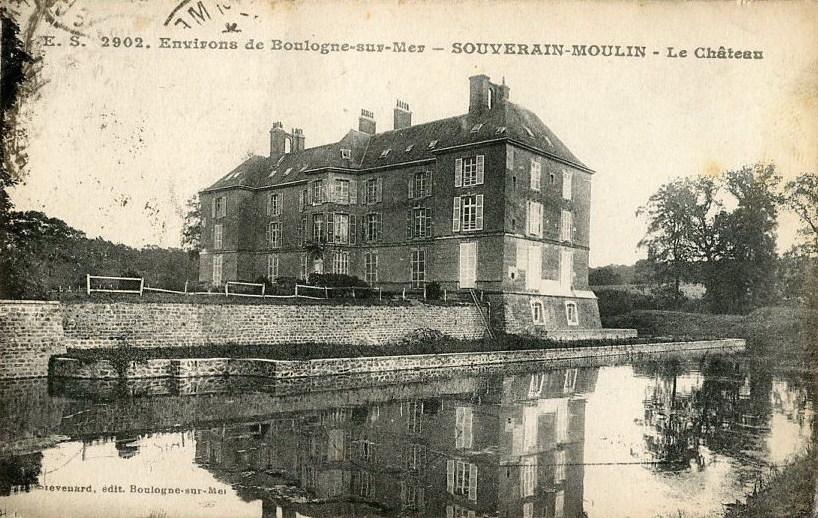 Château de Souverain-Moulin à Pittefaux