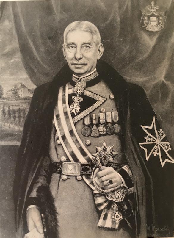 État présent à partir d'Adolphe, comte de Béthune