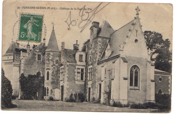 Château du Pin-en-Vallée arrière