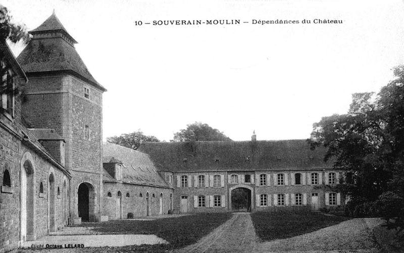 Communs du château de Souverain-Moulin