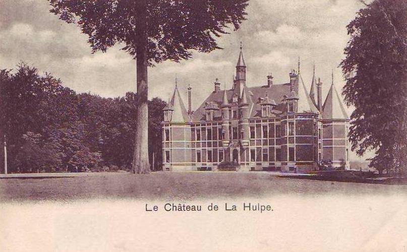 Château de la Hulpe avant les transformations Solvay