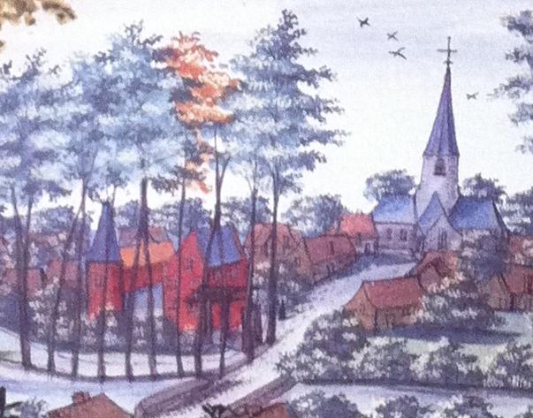 Château de Wattripont Album de Croÿ XVIIe siècle