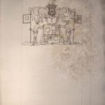 Armoiries Malet de Coupigny La Barque par le Prince de Béthune