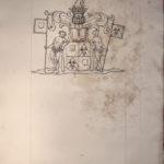 Armoiries Malet de Coupigny Lignereuil par le Prince de Béthune