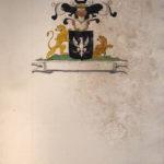 Armoiries Hangouart par le Prince de Béthune