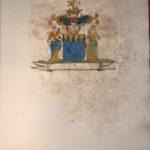 Armoiries Gantès par le Prince de Béthune