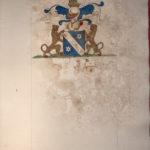 Armoiries Imbert par le Prince de Béthune