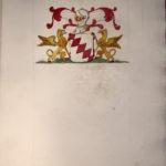 Armoiries Louverval par le Prince de Béthune