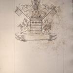 Armoiries La Vieuville Viefville par le Prince de Béthune